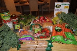 I was so excited to show my husband all of the food that I bought after going for the 1st time!