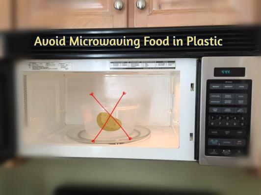 microwaving in plastic