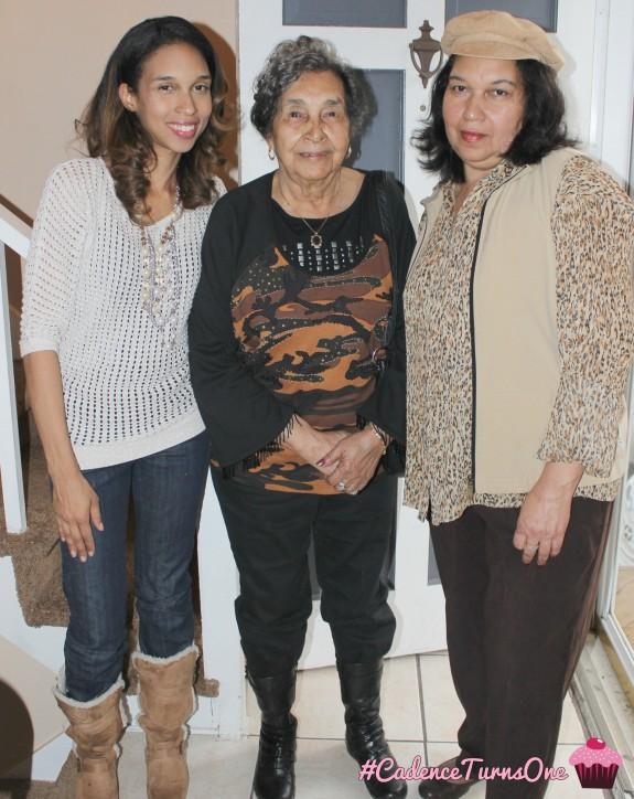 Mama, gma, and me