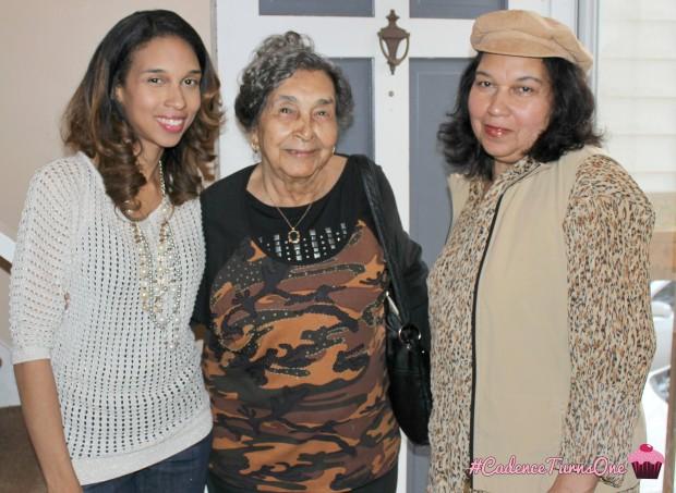 Me, mama, and Gma
